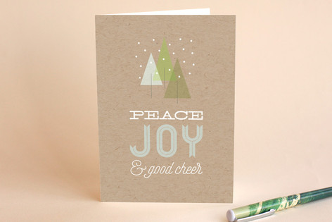 Three Pines Holiday Cards