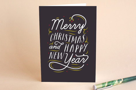 Exuberant Holiday Cards