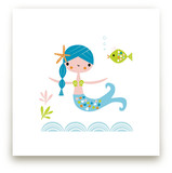 Blue Mermaid by Shannon Hays