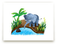 Elephant in the River
