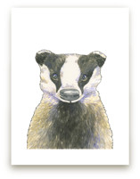 Brave Badger by Natalie Groves