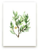 Botanical No 20 by Leah Bisch