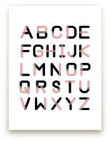 Color Font Alphabet by Erica Marquis