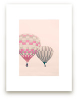 Two Hot Air Balloons by Caroline Mint