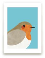 Little Winter Robin by Catherine Culvenor