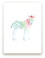 Rainbow Zebra by Meredith Collie