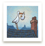 Stork Delivery by Rachel Nelson