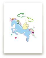 Unicorn Love Blue