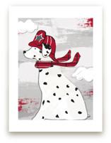 Dalmatian Fire Truck Dog