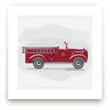 Fire Truck Grey -1