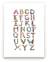 Collage ABC's by Kiana Mosley