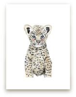 Baby Animal Leopard Wall Art Prints