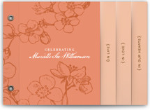 Lovely Blooms Memorial Minibook Cards