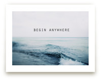 Begin Anywhere by ALICIA BOCK