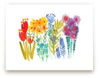Summer Wild Flowers  by Kim Johnson