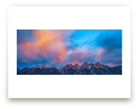 Painted Teton Sunrise by Abby Niziol