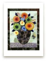 Zinnia Bouquet by Me Amelia