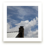 Chimney and Sky by Carol Schiraldi