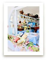 Greek Cafe by Katrina Leandro