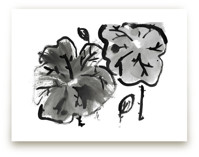 Lotus in Black and Whit... by Jessica Niles DeHoff
