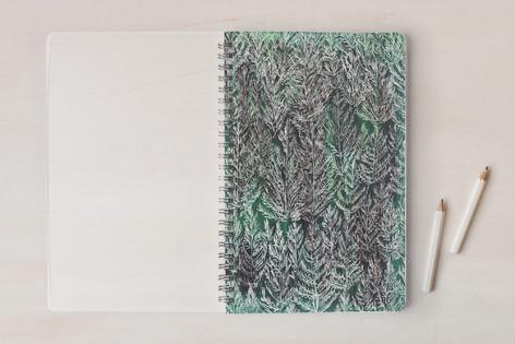 Snow pines Notebooks