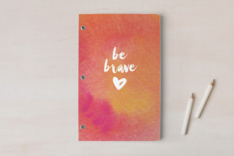 Be Brave Love Notebooks
