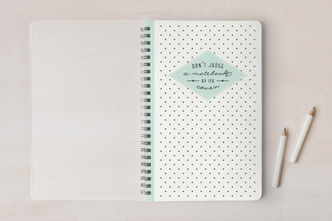 No Judging Notebooks