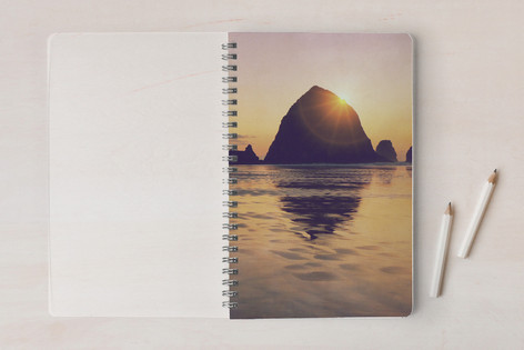 Cannon Beach Sunset Notebooks