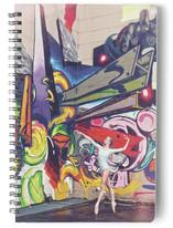 Graffiti Pointe by Zanne Bedore