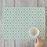 Organic Droplet Self Launch Placemats