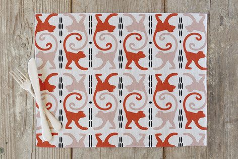 cocktail monkeys Self Launch Placemats
