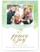 Peace & Joy Dove Custom Stationery