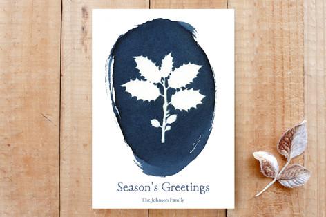 Holly Season Custom Stationery