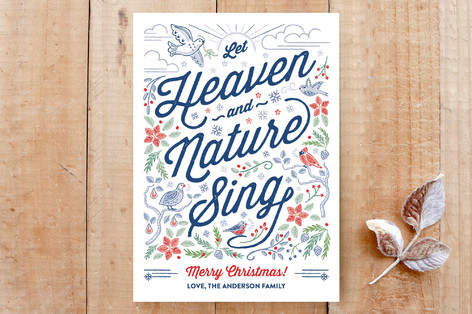 Heaven and Nature Sing Custom Stationery
