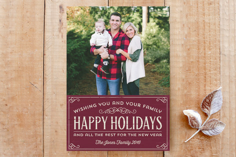 Holiday Sign Custom Stationery