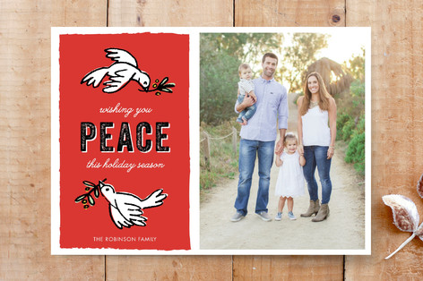 Peaceful Doves Custom Stationery