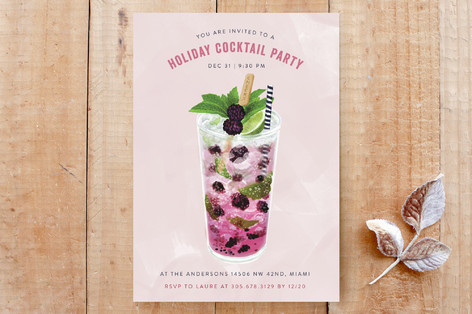 Sweet cocktail party Custom Stationery