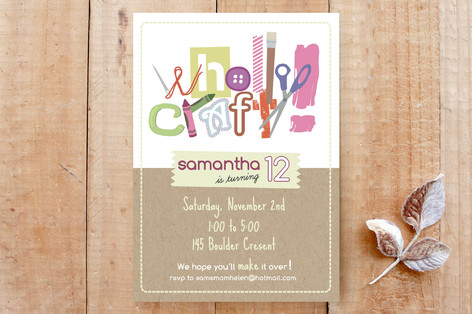 Wholly Craft Custom Stationery