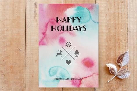 Cross Stitch Holidays Custom Stationery