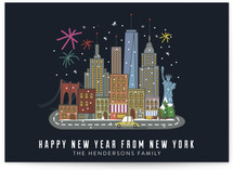 New year in new york ci... by Ariel Troche