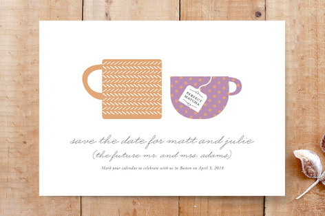 Tea for 2 Custom Stationery