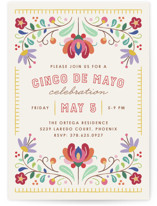 Fiesta Florals Invitation