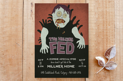The Walking Fed Custom Stationery