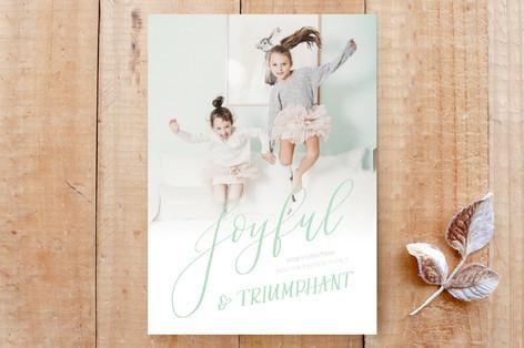 Joyful & Triumphant Custom Stationery