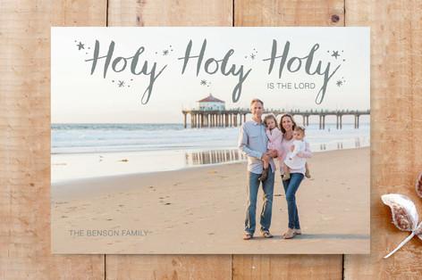 Holy Holy Holy Custom Stationery