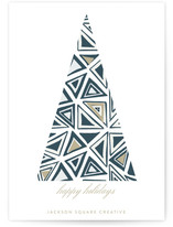 Geometric Christmas Tre... by Roopali