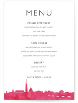 Skyline DC Menu by Laura Condouris