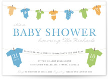 Onesie Shower by Bethany McDonald
