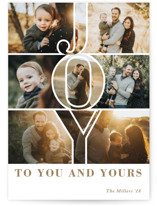 Joy to You & Yours by Playground Prints