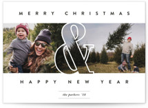 Holiday Ampersand by Playground Prints